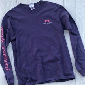 Simply Southern long sleeve + sticker